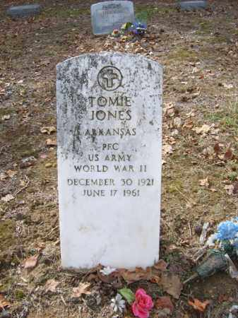 JONES (VETERAN WWII), TOMIE - Cross County, Arkansas | TOMIE JONES (VETERAN WWII) - Arkansas Gravestone Photos