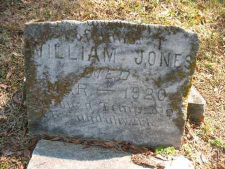 JONES, WILLIAM - Cross County, Arkansas | WILLIAM JONES - Arkansas Gravestone Photos