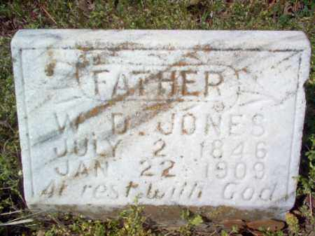 JONES, WILLIAM DALLAS - Cross County, Arkansas | WILLIAM DALLAS JONES - Arkansas Gravestone Photos