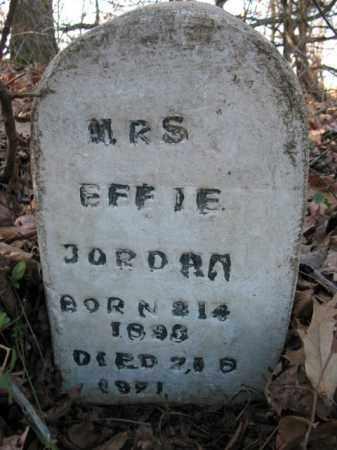 JORDAN, EFFIE - Cross County, Arkansas | EFFIE JORDAN - Arkansas Gravestone Photos
