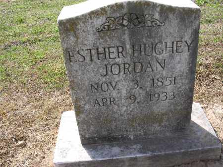 HUGHEY JORDAN, ESTHER - Cross County, Arkansas | ESTHER HUGHEY JORDAN - Arkansas Gravestone Photos