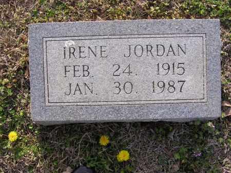 JORDAN, IRENE - Cross County, Arkansas | IRENE JORDAN - Arkansas Gravestone Photos