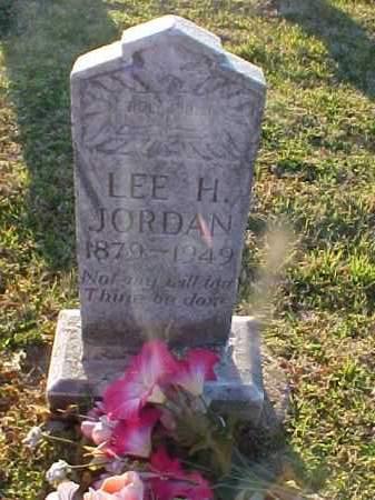 JORDAN, LEE H. - Cross County, Arkansas | LEE H. JORDAN - Arkansas Gravestone Photos