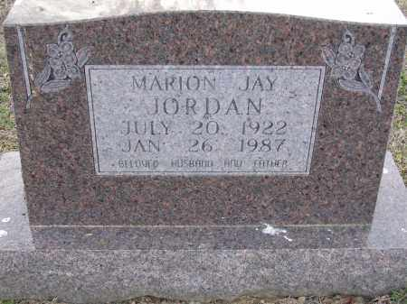 JORDAN, JR., MARION JAY - Cross County, Arkansas | MARION JAY JORDAN, JR. - Arkansas Gravestone Photos