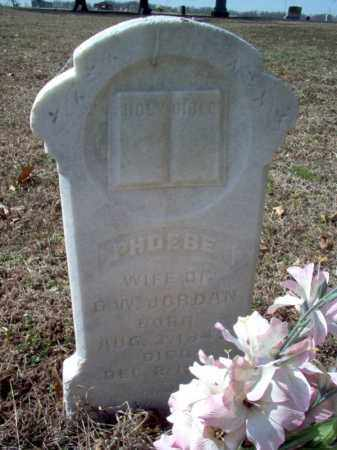 JORDAN, PHOEBE - Cross County, Arkansas | PHOEBE JORDAN - Arkansas Gravestone Photos