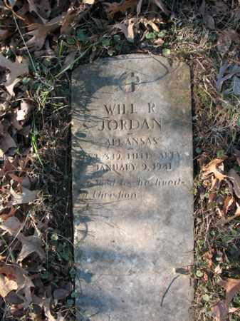 JORDAN (VETERAN), WILL R - Cross County, Arkansas | WILL R JORDAN (VETERAN) - Arkansas Gravestone Photos