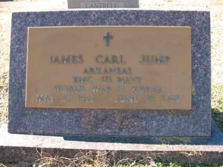 JUMP (VETERAN 2 WARS), JAMES CARL - Cross County, Arkansas | JAMES CARL JUMP (VETERAN 2 WARS) - Arkansas Gravestone Photos