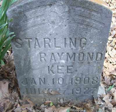 KEE, STARLING RAYMOND - Cross County, Arkansas | STARLING RAYMOND KEE - Arkansas Gravestone Photos