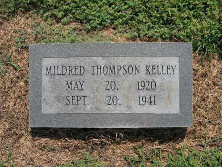THOMPSON KELLEY, MILDRED LOUISE - Cross County, Arkansas | MILDRED LOUISE THOMPSON KELLEY - Arkansas Gravestone Photos