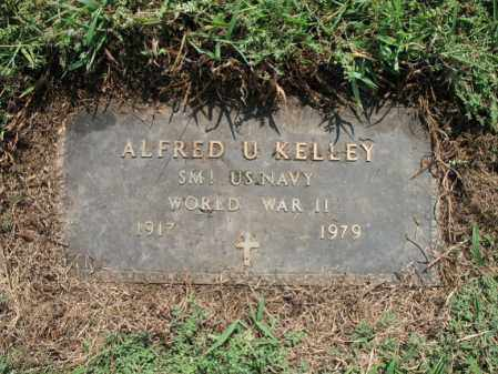 KELLEY (VETERAN WWII), ALFRED UTLEY - Cross County, Arkansas | ALFRED UTLEY KELLEY (VETERAN WWII) - Arkansas Gravestone Photos