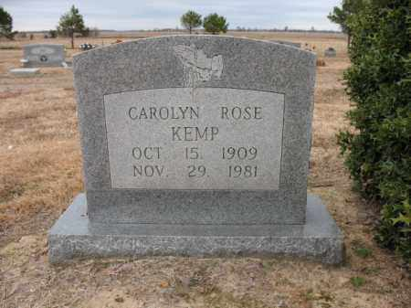 KEMP, CAROLYN ROSE - Cross County, Arkansas | CAROLYN ROSE KEMP - Arkansas Gravestone Photos