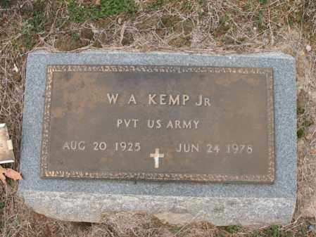 KEMP, JR (VETERAN), W A - Cross County, Arkansas | W A KEMP, JR (VETERAN) - Arkansas Gravestone Photos