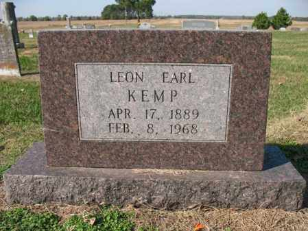 KEMP, LEON EARL - Cross County, Arkansas | LEON EARL KEMP - Arkansas Gravestone Photos