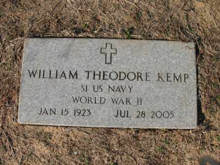 KEMP (VETERAN WWII), WILLIAM THEODORE - Cross County, Arkansas | WILLIAM THEODORE KEMP (VETERAN WWII) - Arkansas Gravestone Photos