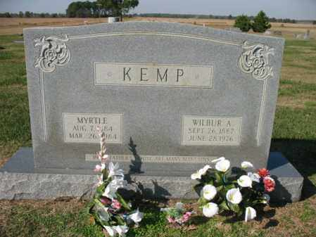 KEMP, WILBUR A - Cross County, Arkansas | WILBUR A KEMP - Arkansas Gravestone Photos