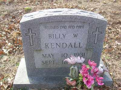 KENDALL, BILLY W. - Cross County, Arkansas | BILLY W. KENDALL - Arkansas Gravestone Photos