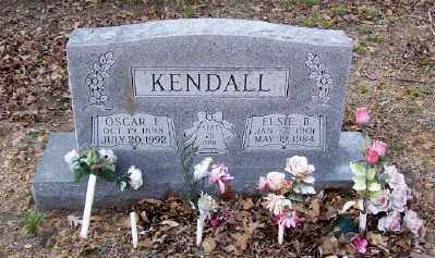KENDALL, OSCAR E. - Cross County, Arkansas | OSCAR E. KENDALL - Arkansas Gravestone Photos