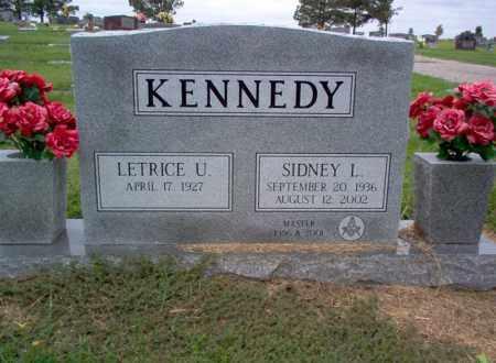 KENNEDY, SIDNEY L - Cross County, Arkansas | SIDNEY L KENNEDY - Arkansas Gravestone Photos