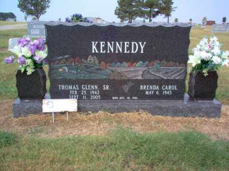 KENNEDY, SR., THOMAS GLENN - Cross County, Arkansas | THOMAS GLENN KENNEDY, SR. - Arkansas Gravestone Photos