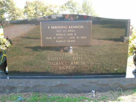 "KENNON (VETERAN WWII), FREEMAN PERSHING ""MICKEY"" - Cross County, Arkansas 