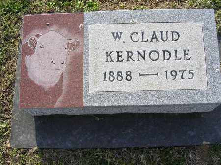 KERNODLE, W CLAUD - Cross County, Arkansas | W CLAUD KERNODLE - Arkansas Gravestone Photos