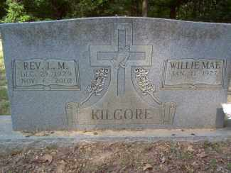 KILGORE, WILLE MAE - Cross County, Arkansas | WILLE MAE KILGORE - Arkansas Gravestone Photos
