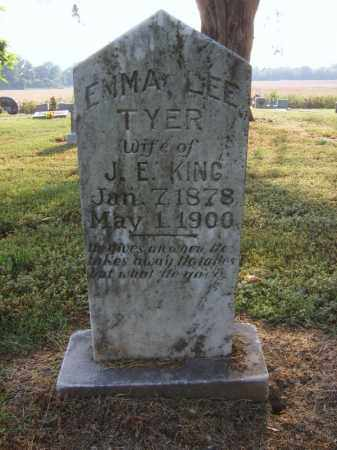 TYER KING, EMMA LEE - Cross County, Arkansas | EMMA LEE TYER KING - Arkansas Gravestone Photos