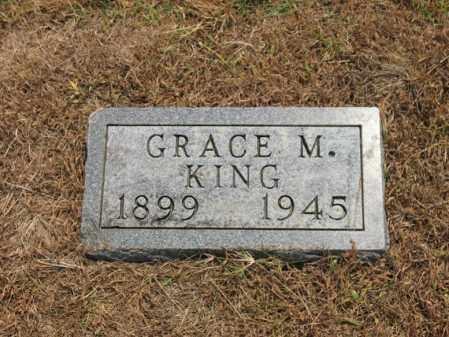 KING, GRACE M - Cross County, Arkansas | GRACE M KING - Arkansas Gravestone Photos