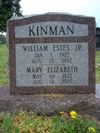 BOWERS KINMAN, MARY ELIZABETH - Cross County, Arkansas | MARY ELIZABETH BOWERS KINMAN - Arkansas Gravestone Photos