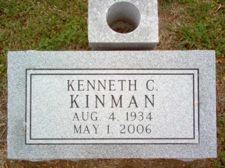 KINMAN, KENNETH C - Cross County, Arkansas | KENNETH C KINMAN - Arkansas Gravestone Photos