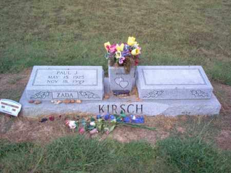 KIRSCH, PAUL JAKE - Cross County, Arkansas | PAUL JAKE KIRSCH - Arkansas Gravestone Photos