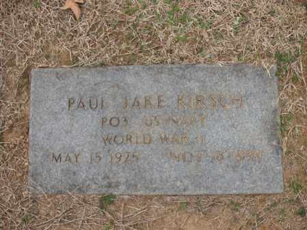 KIRSCH (VETERAN WWII), PAUL JAKE - Cross County, Arkansas | PAUL JAKE KIRSCH (VETERAN WWII) - Arkansas Gravestone Photos