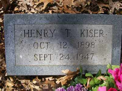 KISER, HENRY T. - Cross County, Arkansas | HENRY T. KISER - Arkansas Gravestone Photos