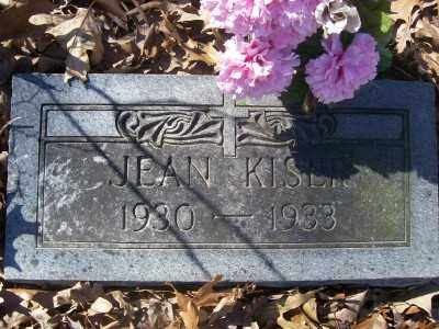 KISER, JEAN - Cross County, Arkansas | JEAN KISER - Arkansas Gravestone Photos