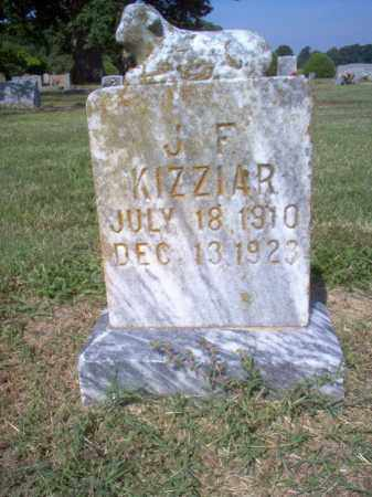 KIZZIAR, J F - Cross County, Arkansas | J F KIZZIAR - Arkansas Gravestone Photos