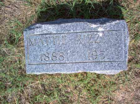 KIZZIAR, MATTIE - Cross County, Arkansas | MATTIE KIZZIAR - Arkansas Gravestone Photos