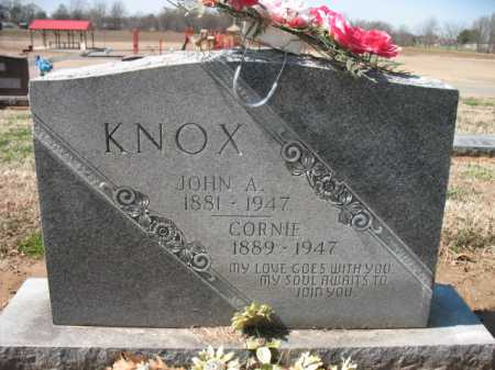 KNOX, JOHN A - Cross County, Arkansas | JOHN A KNOX - Arkansas Gravestone Photos