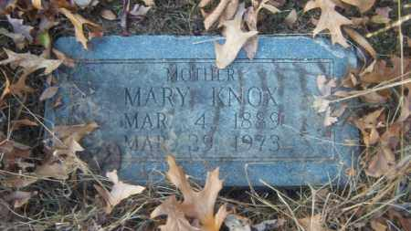 KNOX, MARY - Cross County, Arkansas | MARY KNOX - Arkansas Gravestone Photos