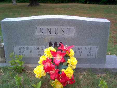 KNUST, BENNIE JOHN - Cross County, Arkansas | BENNIE JOHN KNUST - Arkansas Gravestone Photos