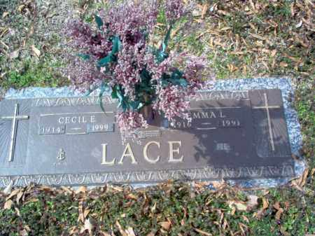 LACE, CECIL E - Cross County, Arkansas | CECIL E LACE - Arkansas Gravestone Photos
