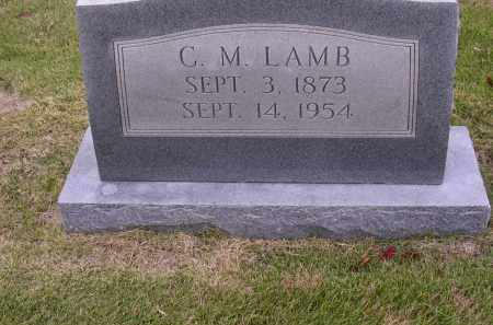 LAMB, C M - Cross County, Arkansas | C M LAMB - Arkansas Gravestone Photos