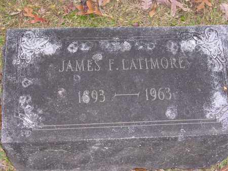 LATIMORE, JAMES F - Cross County, Arkansas | JAMES F LATIMORE - Arkansas Gravestone Photos