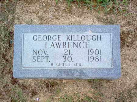 LAWRENCE, GEORGE KILLOUGH - Cross County, Arkansas | GEORGE KILLOUGH LAWRENCE - Arkansas Gravestone Photos