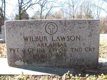 LAWSON (VETERAN WWI), WILBUR - Cross County, Arkansas | WILBUR LAWSON (VETERAN WWI) - Arkansas Gravestone Photos