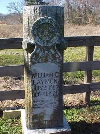 LAYMON, WILLIAM C - Cross County, Arkansas | WILLIAM C LAYMON - Arkansas Gravestone Photos