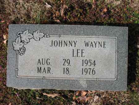 LEE, JOHNNY WAYNE - Cross County, Arkansas | JOHNNY WAYNE LEE - Arkansas Gravestone Photos