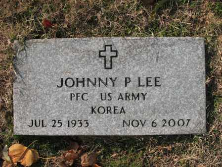"LEE (VETERAN KOR), JOHNNY PEARL ""BO"" - Cross County, Arkansas 