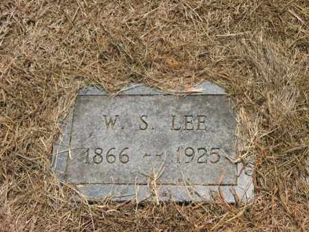 LEE, W S - Cross County, Arkansas | W S LEE - Arkansas Gravestone Photos