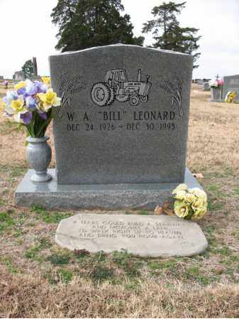 "LEONARD, W A ""BILL"" - Cross County, Arkansas 