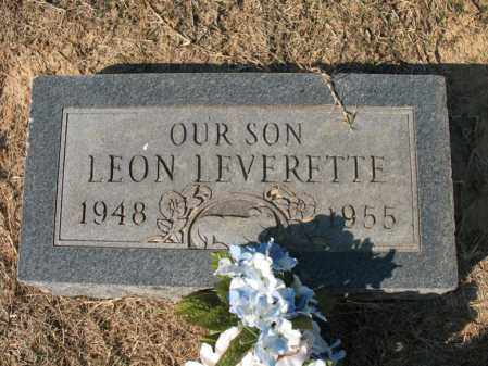 LEVERETTE, LEON - Cross County, Arkansas | LEON LEVERETTE - Arkansas Gravestone Photos